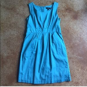 Mossimo size 12 retro turquoise dress